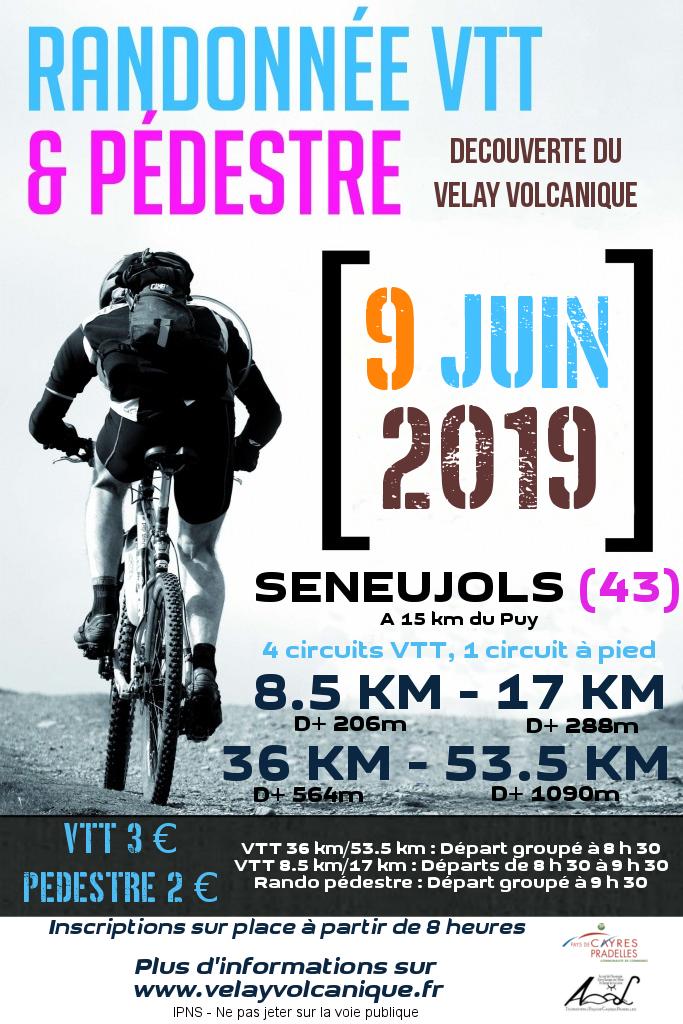 Randonnée VTT du Velay Volcanique